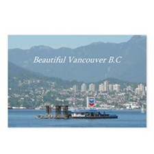 Beautiful Vancouver B.C Postcards (Package of 8)