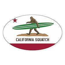 Cute Squatch Decal