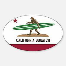 Unique Surf california republic Decal