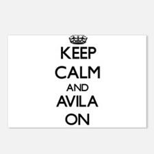 Keep Calm and Avila ON Postcards (Package of 8)