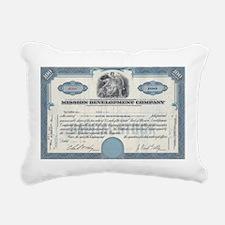 Mission Development Rectangular Canvas Pillow