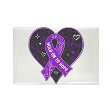 Fibromyalgia Hold on to Rectangle Magnet (10 pack)