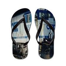 Train Engine Flip Flops