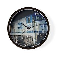 Train Engine Wall Clock