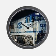 Train Engine Wall Clock