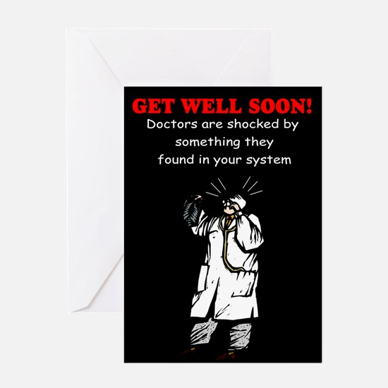 Humorous get well Greeting Cards