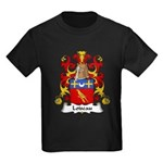 Loiseau Family Crest Kids Dark T-Shirt