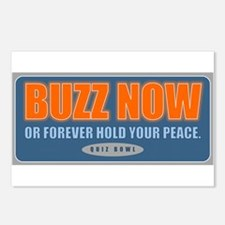 Buzz Now Postcards (Package of 8)