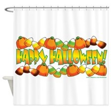 Happy Halloween Candy Shower Curtain