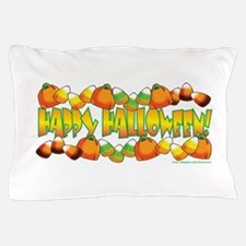 Happy Halloween Candy Pillow Case