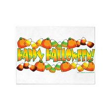 Happy Halloween Candy 5'x7'Area Rug