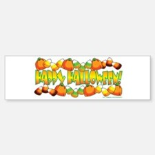 Happy Halloween Candy Sticker (Bumper)