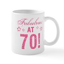 Fabulous 70th Birthday Mug