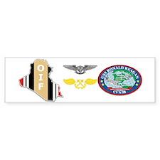 Oif Abm Aw Reagan Bumper Bumper Sticker