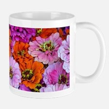 Colorful dahlias floral arrangement Mugs