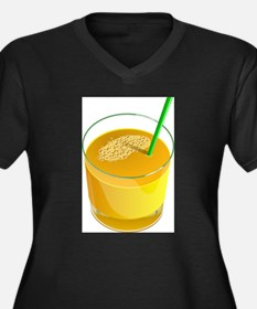 Orange Juice Plus Size T-Shirt