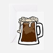 Root Beer Float Greeting Cards