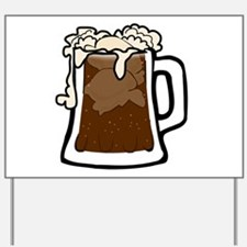 Root Beer Float Yard Sign