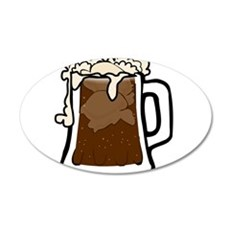 Root Beer Float Wall Decal