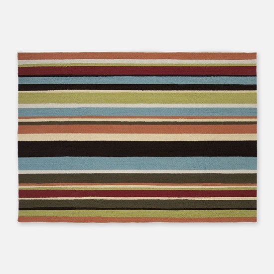 Stripes 5'x7'Area Rug