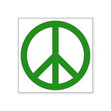 """green peace Square Sticker 3"""" x 3"""""""