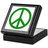 Peacesigns Square Keepsake Boxes