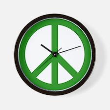 green peace Wall Clock