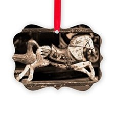 Little Vintage Horse Ornament
