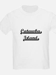 Catawba Island Classic Retro Design T-Shirt