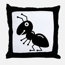 Ant Throw Pillow