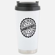 Godfather - The Man The Myth The Legend Travel Mug