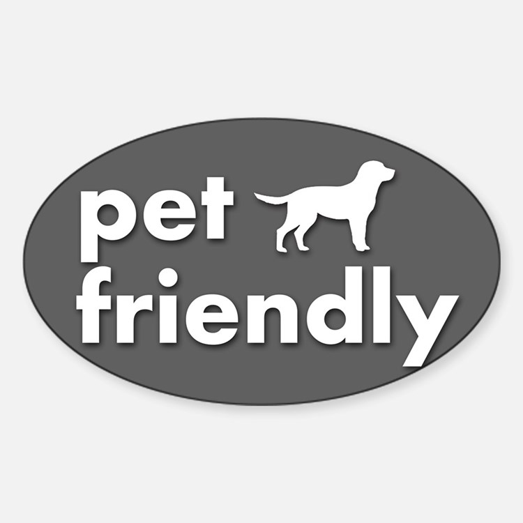 pet friendly art illustration Decal