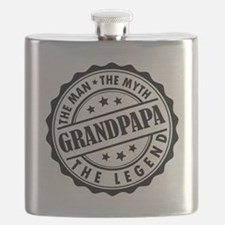 Grandpapa - The Man The Myth The Legend Flask