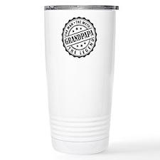 Grandpapa - The Man The Myth The Legend Travel Mug