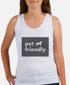 pet friendly art illustration Tank Top