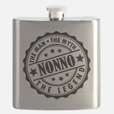 Nonno - The Man The Myth The Legend Flask