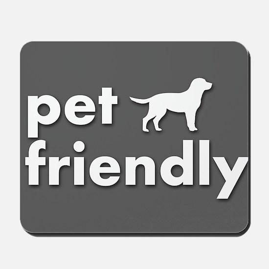 pet friendly art illustration Mousepad