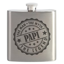 Papi - The Man The Myth The Legend Flask