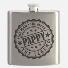 Pappy - The Man The Myth The Legend Flask