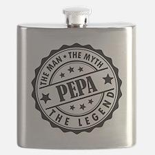 Pepa - The Man The Myth The Legend Flask