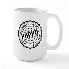 Poppie - The Man The Myth The Legend Mugs