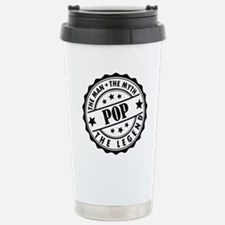 Pop - The Man The Myth The Legend Travel Mug