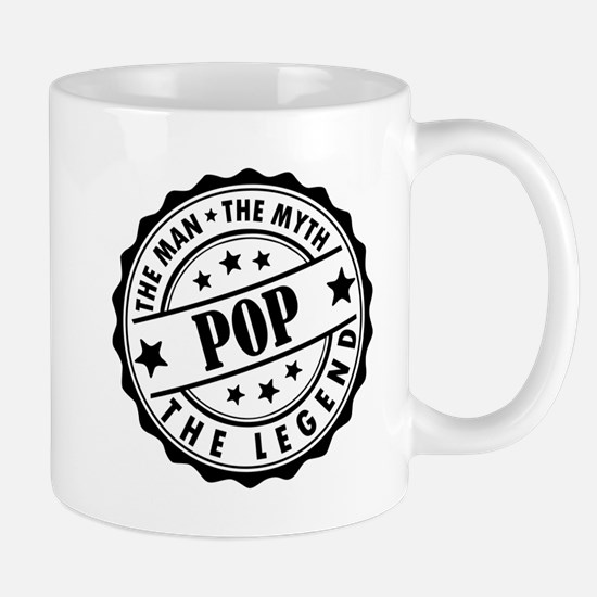 Pop - The Man The Myth The Legend Mugs