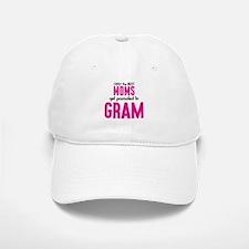 BEST MOMS GET PROMOTED TO GRAM Baseball Baseball Baseball Cap