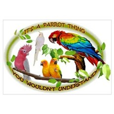 It's a Parrot Thing! Poster