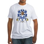 Lepine Family Crest  Fitted T-Shirt