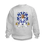 Lepine Family Crest  Kids Sweatshirt