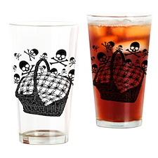 Evil Picnic Basket Drinking Glass