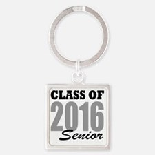 Class of 2016 (senior) Square Keychain