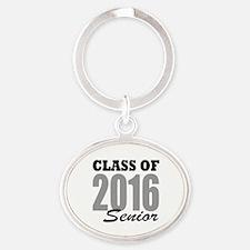 Class of 2016 (senior) Oval Keychain